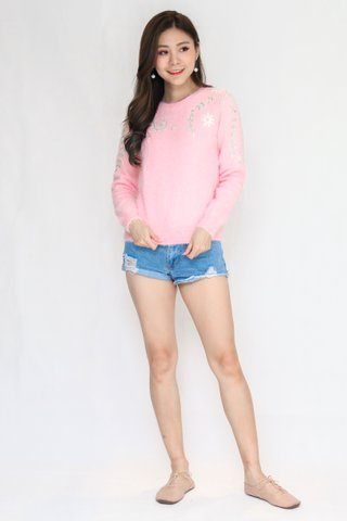 Orchid Pullover In Pink