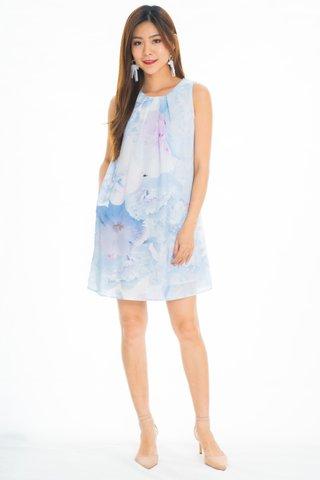 Newfield  Sweet Romance Dress In Baby Blue