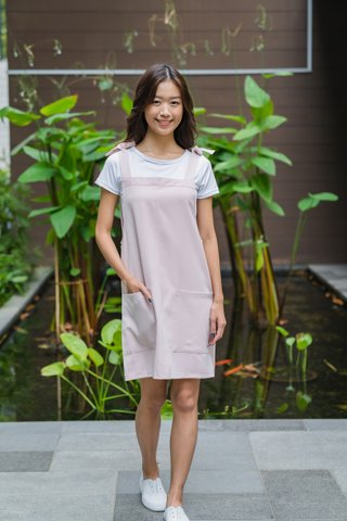 Anchor Dress in Light Pink