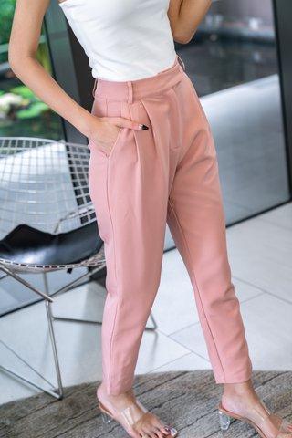 Girace Pants In Dusty Pink