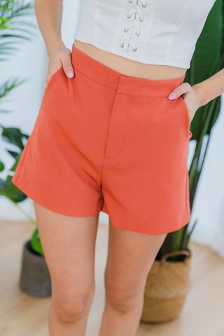 Bernice Shorts In Rust