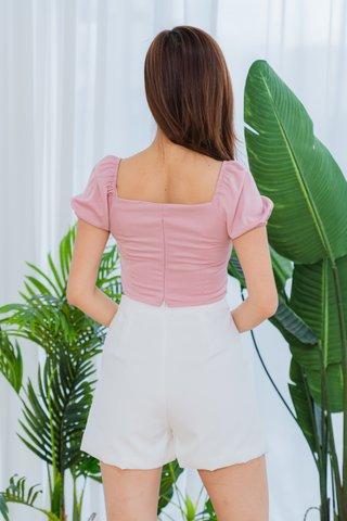 Bernice Shorts In White