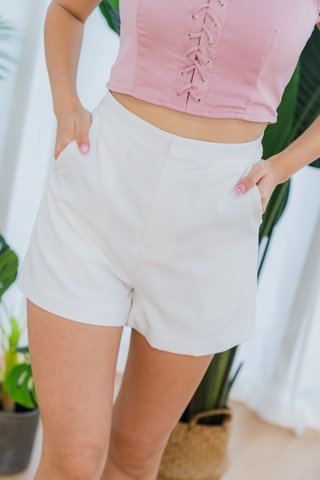 Bernice Shorts In White