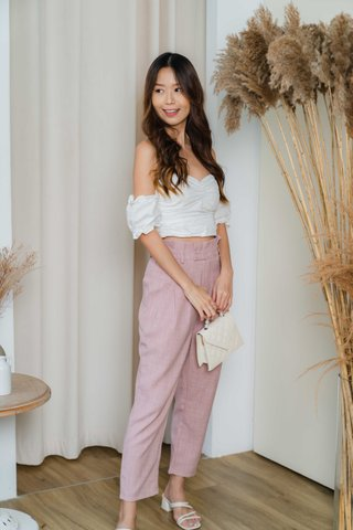 Lizzie Tapered Pants In Pink